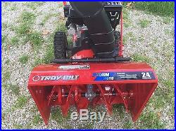 Troy Bilt Snow Thrower 24 Dual Stage/ Electric Start/ Snow Blower