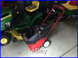 Troy-Bilt Squall 2100 21 inch Electric Start Snow Thrower Blower