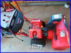 Troy Bilt Storm 10030 Electric Start Gas 2-Stage 30 Snow Blower Thrower