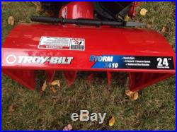Troy Bilt Storm 2410 2-Stage 24 Snowblower With Electric Start