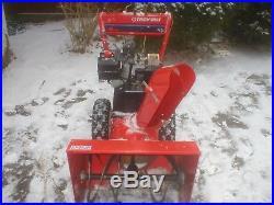 Troy-bilt Snowblower 8hp and 24 Cutting Path High Quality
