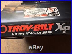 Troy-bilt Xp Storm Tracker 2690