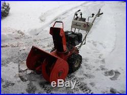 Two Snowblowers Ariens 13/32 MONSTER SNOWBLOWER & Ariens 7/24