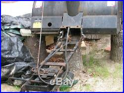 Two Used craftsman 42 in. Two-Stage Snow Blower Attachment