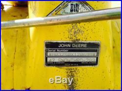 USED JOHN DEERE 42 SNOW BLOWER