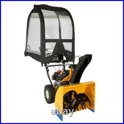 Universal Cab Durable Heavy Duty Enclosure for 2 and 3 Stage Snow Blowers Home