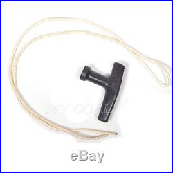 Universal Lawnmower Starter Pull Handle With Cord Line Rope Mower Engine Petrol