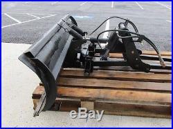 Used Simplicity Legacy XL 60 Hydrualic Dozer Blade, 4 Way, With Subframe