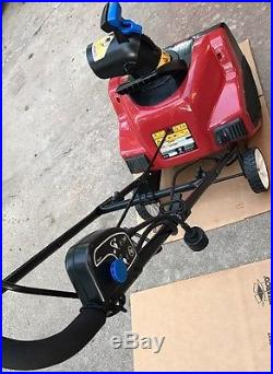 Used Toro 1800 18-Inch 120-Volt 15-Amp Power Curve Electric Snow Blower -125742