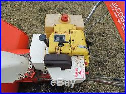 Vintage Jacobsen Imperial 830 2 Stage Snow Blower RUNS AND WORKS