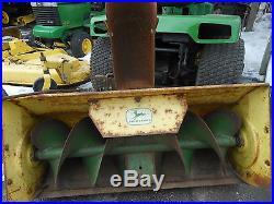 Vintage John Deere 37 Snowthrower for 110 112 L&G Tractor BM15161
