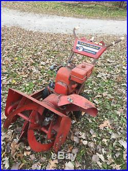 Vintage Yard-Man Model 7020-0 24 Snowblower Snow-Bird COMPLETE