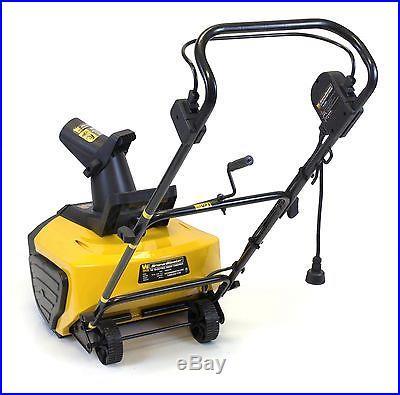 WEN 5662 Snow Blaster Electric Snow Thrower, 18-Inch