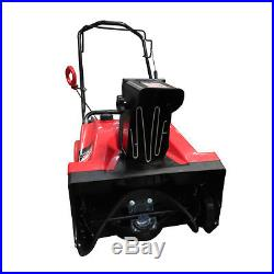 Warrior Tools America WR67436 Gas Powered Single Stage Snow Thrower, 20-Inch