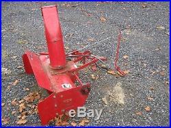 Wheel Horse snowblower model 79360 for garden tractors