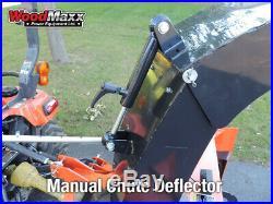 WoodMaxx 60 PTO Drive Heavy Duty Snow Blower SB-60 PTO