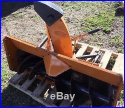 Woods ST500 Snowblower Attachment Grasshopper F27 F25 718 721 and more
