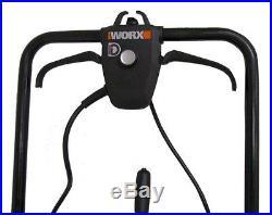 Worx WG650 18 Electric Snow Thrower/Blower up to 30 Feet, 13 Amp Orange (Used)