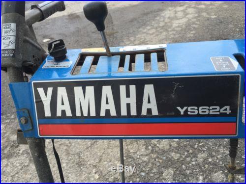 Yamaha Ys624 Snow Blower