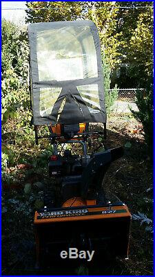 Yard King snow blower Self powered Electric start with hood