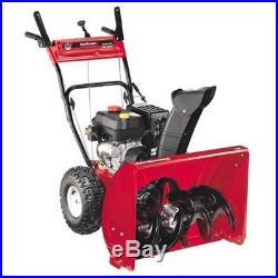Yard Machines 26 in. 208cc 2-Stage Electric Start Gas Snow Blower