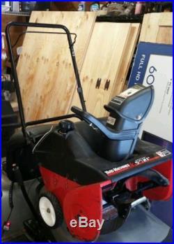 Yard Machines 5hp 21 wide Gas Snow Blower