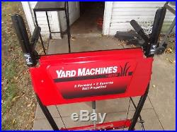 Yard Machines Snow Blower 5 HP 2 Stage No Shipping IL 60067