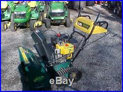Yard Man (MTD) 724 / 2 Stage Snow Blower with Electric Start / Track Drive