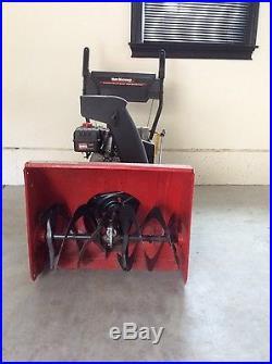 26 inch yard machine snowblower